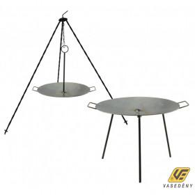 Perfect Home 28252 Vas grill tárcsa - boronatárcsa kétfunkciós 40cm