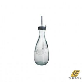 Vidrios 297207 Zöld üveg tetővel 0,57 liter Smoothe