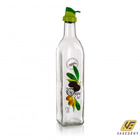 Banquet 34061318 Üveg olaj kiöntő, olaj tároló 500ml Olives