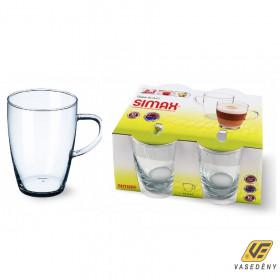 Simax Bögre, hőálló, üveg, 49 cl, 401002