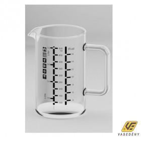 Simax Hőálló kancsó, 0,5 liter, mércés, 401106