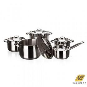 Banquet 48RW121810DT Ellize Rozsdamentes edénykészlet fémfedővel 10 részes