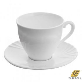Luminarc Teás csésze készlet, üveg, 6db, 22cl, Cadix, 500422