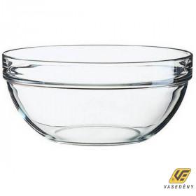 Luminarc Salátás tál, üveg, 23 cm, Empilable, 500453