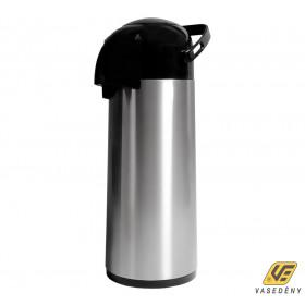 Korona 50500001 Pumpás termosz 1,9 liter rozsdamentes