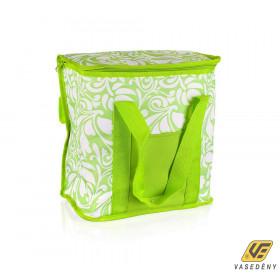 Banquet hűtőtáska zöld-fehér 20 literes 50ML1084A1