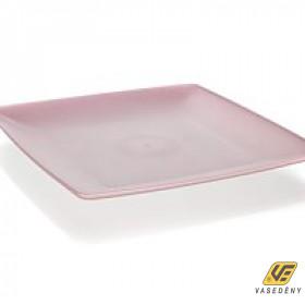 Banquet 55064101 Műanyag tál 24x24cm pink Culinaria