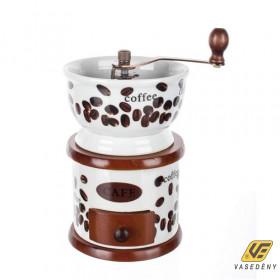 Banquet 564090088 Kézi kávédaráló porcelán Culinaria