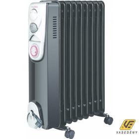 Hauser OR1095T Olajradiátor 9 elem 2000W