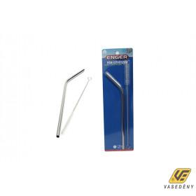 Enger Szívószál fém 1 db-os + tisztító 5999036110720
