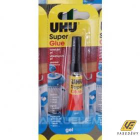 UHU Super Glue Pillanatragasztó gél 2 gramm