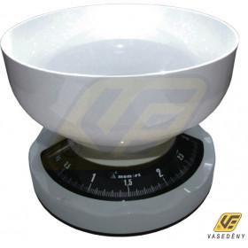 Momert 6130 mechanikus keverőtálas konyhamérleg 3 kg