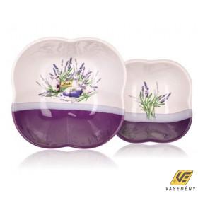 Banquet 60SM04L Kerámia tálaló szett  2 részes 11,5+18cm Lavender