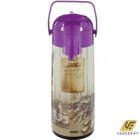 Banquet 4819J0A04 Pumpás Termosz 1,9 liter Lavender