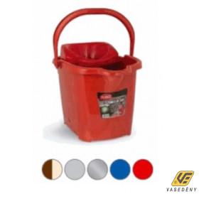 Felmosóvödör, műanyag, csavaróval, 15 literes, AZ3