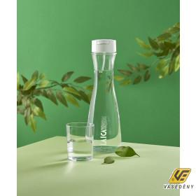 Laica Vízszűrő palack, 1,1 liter, üveg, GlasSmart, B31AA02