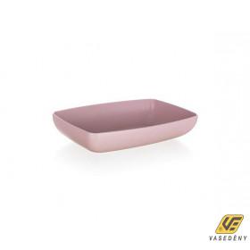 Banquet  55064113 Műanyag tál 18x9x3cm pink Culinaria