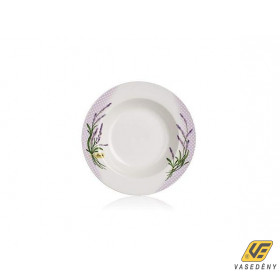 Banquet 60111L01 Porcelán mélytányér 21,6cm Levendula
