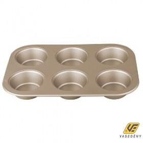Berlinger Haus BH 1429 Muffinsütő tapadásmentes bevonattal 6 csészés My Bronze Pastry Cook