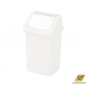 Curver 04045-026-65 CLICK-IT Billenő fedeles szemetes 50L fehér