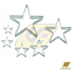 Perfect Home 10354 Csillag kiszúró szett 6db