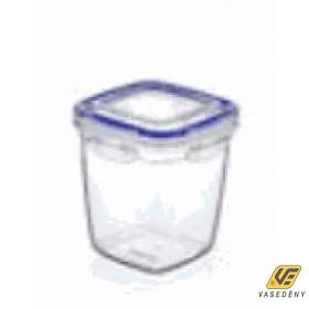 Ételtároló doboz, műanyag, 1075 ml, csatos, DÜ63