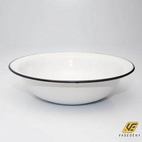 Zománcozott mosdótál fehér 45 cm