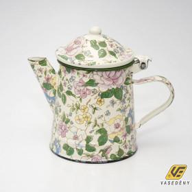 Zománcozott virágos kávéfőző 1 liter