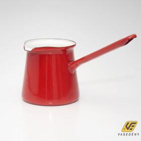 Zománcozott kávékiöntő piros 0,5 liter