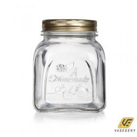 Banquet 3380384 Üveg tároló fedővel 0.5 liter Homemade