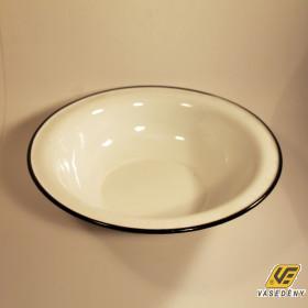 Zománcozott dagasztó tál fehér 32 cm