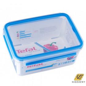 Tefal K3021512 CLIP and CLOSE Ételtároló doboz téglalap 2,3L
