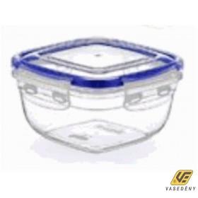 Ételtároló doboz, műanyag, 900 ml, csatos, DÜ22
