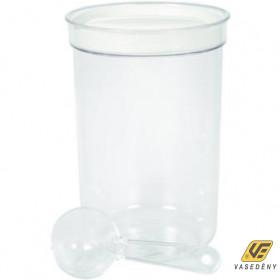 Curver 01397-094-02 Kávétartó adagoló kanállal 1,5L átlátszó-bézs