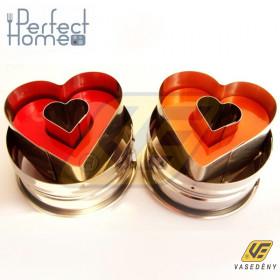 Perfect Home 10350 Rugós szívkiszúró