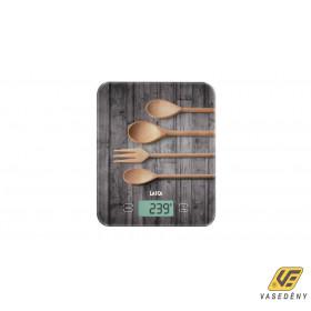 Laica KS5010N Digitális konyhamérleg 10 Kg Fakanál minta