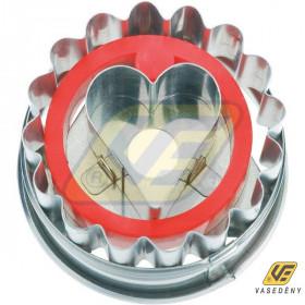 Perfect Home 10305 Linzerkiszúró rugós szívközepű