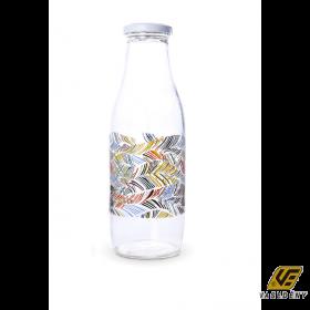 Cok 49-0101 Tejes üveg 1 liter Deco
