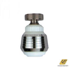 Siroflex Csapszűrő, krómozott, perlátor, gömbcsuklós, fehér, 2785/0