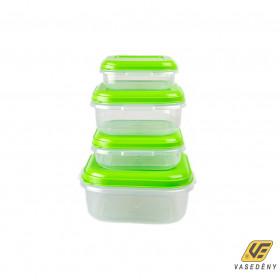 Plastor Trading R3-82143GAL Food Ételtároló doboz szett 4 db