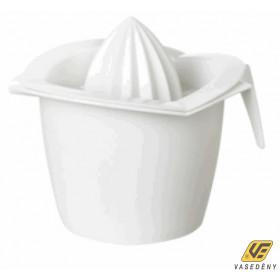 Citromfacsaró tároló edénnyel, műanyag, SA260