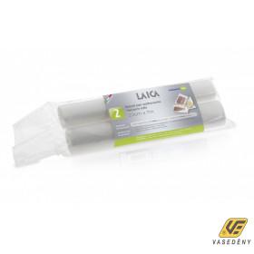 Laica Vákuum légcsatornás, extra erős, BPA mentes csomagoló tömlő,  20x700cm 2 db tekercs, VT3603