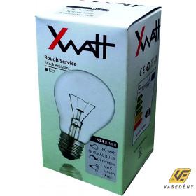 XWATT XWSNE27/60W Hagyományos gömb izzó 60W-os E27-es foglalattal