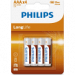 Philips PH-LL-AAA-B4 LongLife AAA elem 4db